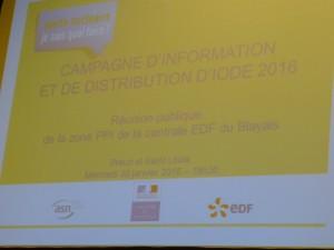 Réunion organisée par l'ASN, la Préfecture et EDF