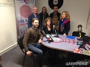 Les ONG : Greenpeace et CCFD à Radio G