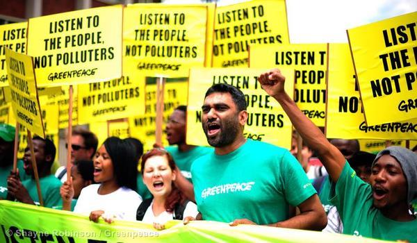 &copys; Shayne Robinson / Greenpeace