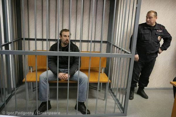 Francesco Pisanu  At The Leninsky District Court Of Murmansk