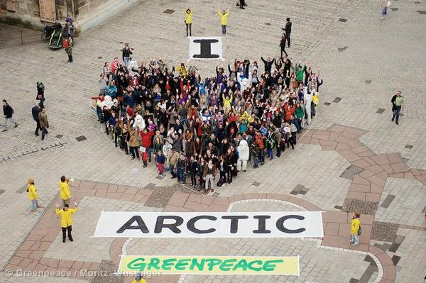 'I Love Arctic' Day of Action in Austria