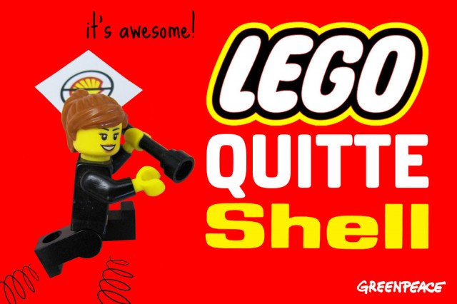 lego quitte shell