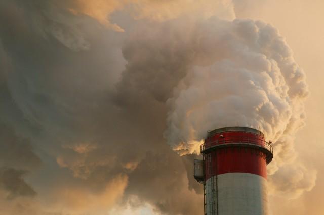 Une centrale à charbon en Pologne.