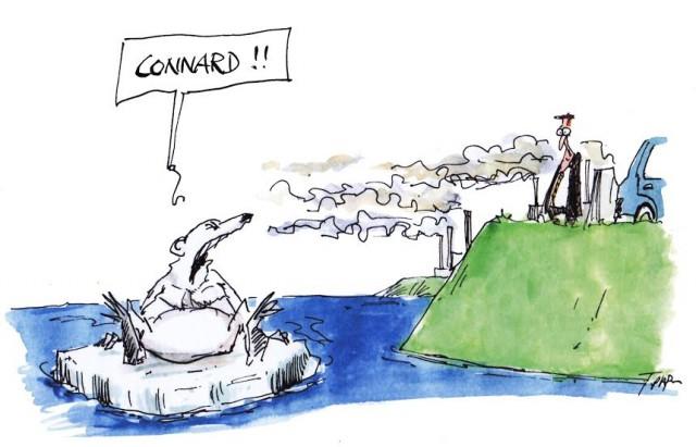 Quelques années après la COP21 © Cartooning for Peace