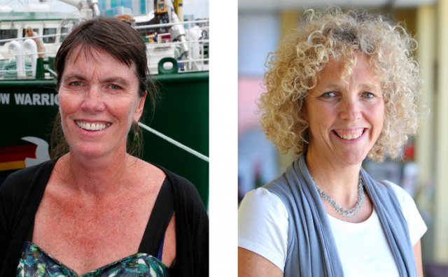 Bunny McDiarmid et Jennifer Morgan, nouvelles directrices internationales de Greenpeace