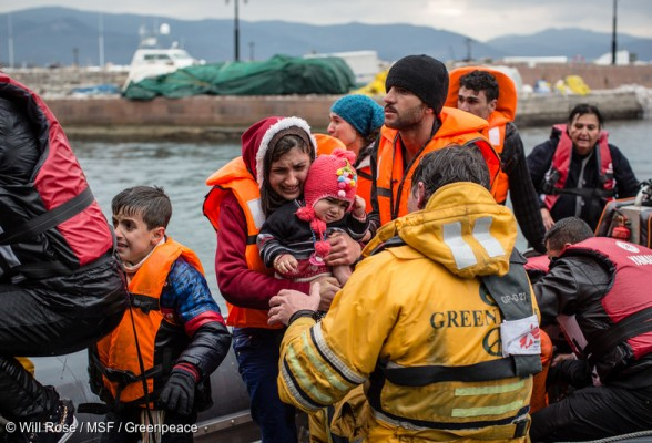 Le 16 décembre, des équipes de MSF et de Greenpeace ont secouru des réfugiés dont le bateau s'était renversé. Ce jour-là, 83 personnes ont été sauvées de la noyade. Une femme de 80 ans et un bébé de neuf mois sont décédés.