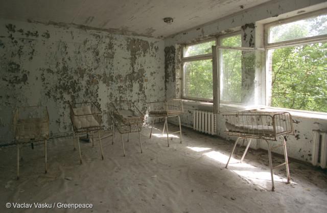 Abandoned Hospital in Pripyat Verlassenes Krankenhaus in Pripyat