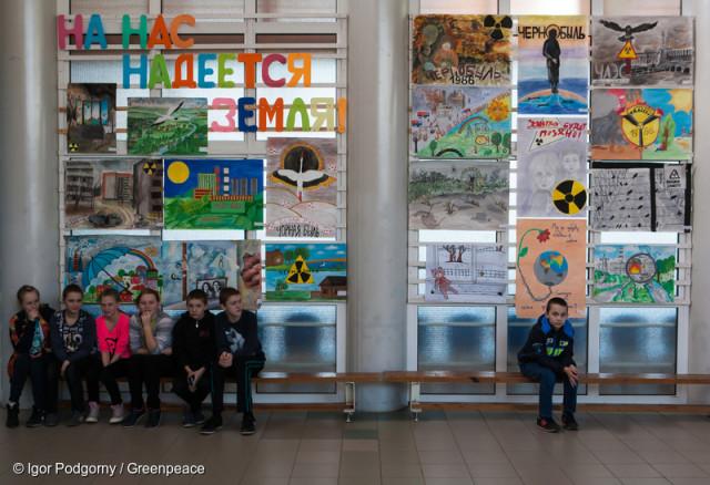 Children of Chernobyl at Recreation and Rehabilitation Center in Belarus