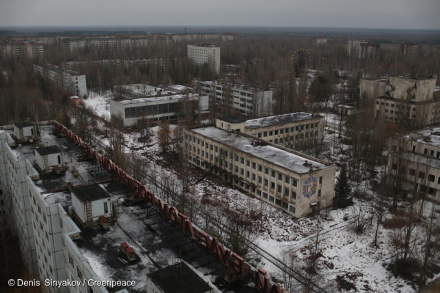 Abandoned City of Pripyat in Ukraine