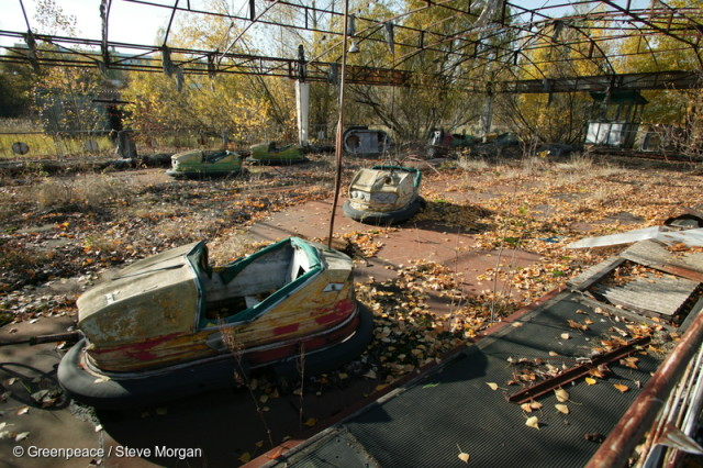Chernobyl Nuclear Disaster Locations