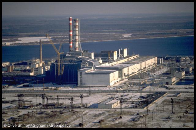 Chernobyl nuclear power station, Ukraine.