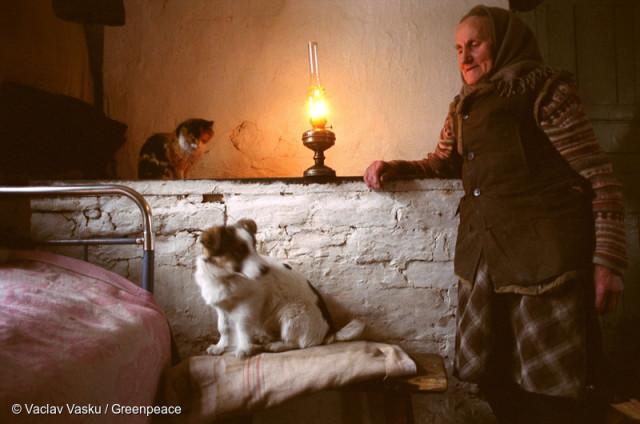 Villager Living near Gomel nahe Gomel
