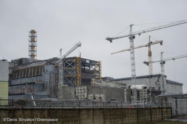 Démantèlement d'un réacteur à Tchernobyl