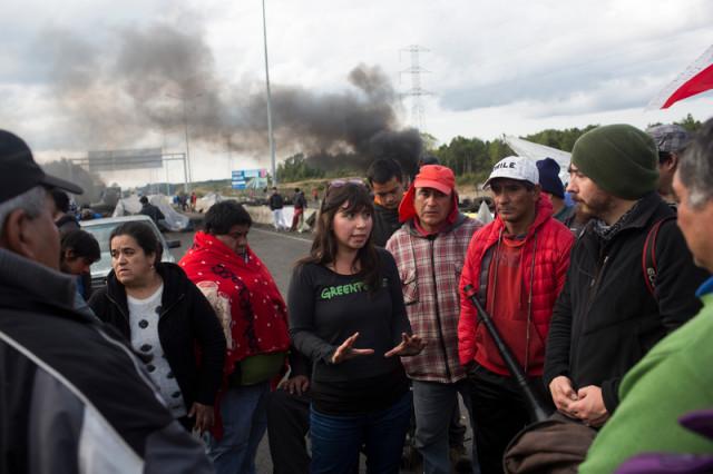 Manifestations sur l'île de Chiloé