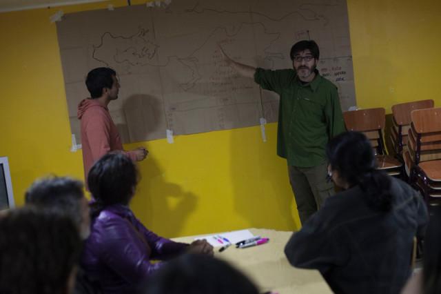 Travail anthropologique avec les communautés locales de Chiloé