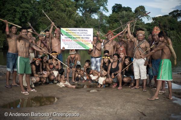 Le peuple Munduruku commence à démarquer officiellement ses terres.