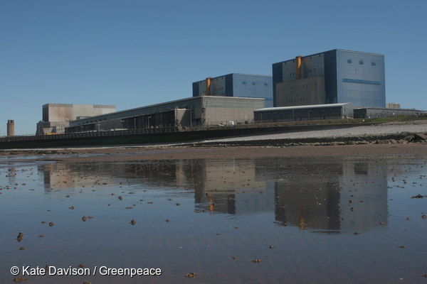 Le site d'Hinkley Point, en Angelterre