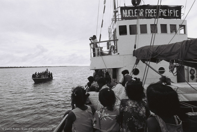 Evacuation des habitants de Rongelap
