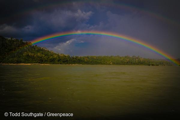 Le fleuve Tapajos, en Amazonie brésilienne