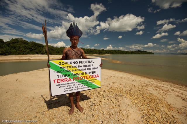 Les Mundurukus ont habité le Sawré Muyby au coeur de l'Amazonie pendant des génération et des générations. Les mégaprojets que prévoit de construire le gouvernement brésilien menacent très sérieusement leur mode de vie.