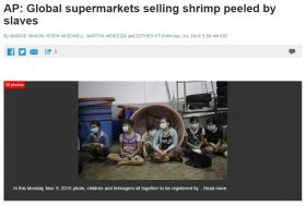 Derrière les produits de la mer bon marché, un coût humain inacceptable