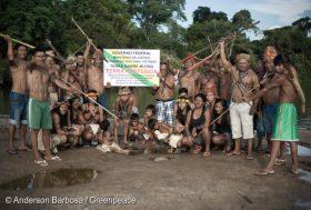 Amazonie : la démarcation du territoire Munduruku commence