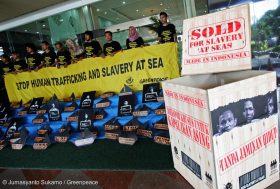 Greenpeace dévoile le visage sombre de l'industrie de la pêche thaïlandaise