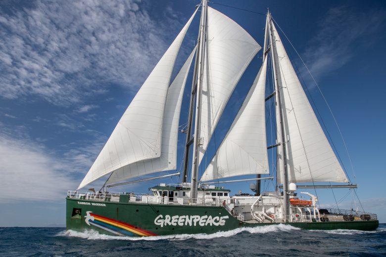 Image De Bateau les bateaux de greenpeace - greenpeace france