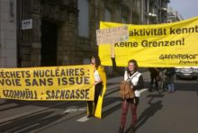 Manifestation anti-nucléaire Strasbourg
