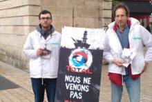 Greenpeace Dijon dénonce les projets pétroliers de Total sur le récif de l'Amazone