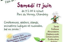 17 juin 2017 – Ecofestiv' au parc du Verney