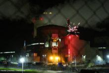 [ACTION] Nos militants à Cattenom pour dénoncer le risque nucléaire