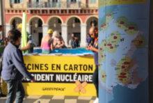 Risques nucléaires : les militants de Greenpeace demandent à EDF d'agir