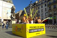 EDF et ses piscines en carton !