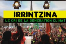 «Irrintzina» en janvier dans les Alpes-Maritimes