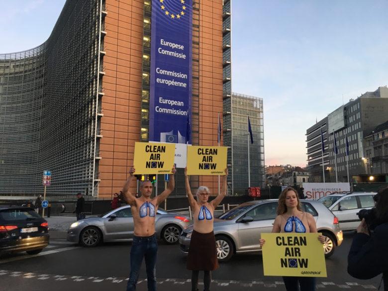 Neuf pays membres rappelés à l'ordre par Bruxelles — Pollution