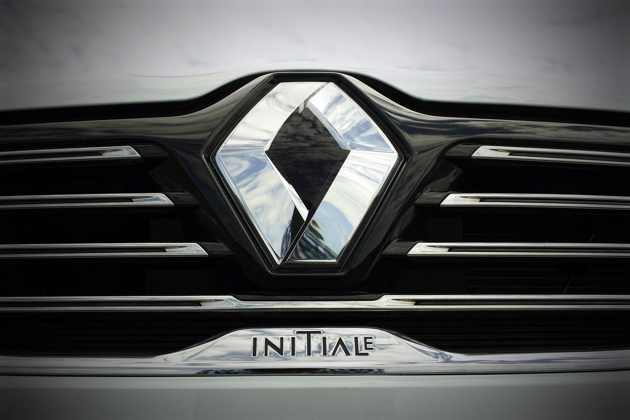 Pare-choc avant d'une voiture Renault Talisman Initiale