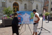 9 juin 2018 – stand cartographie des cantines scolaires