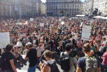 Dans les rues Lyonnaises pour le climat