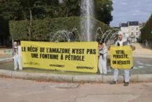 Greenpeace résiste à Poitiers aussi!