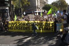 Marche pour le climat : plus de 100 000 personnes mobilisées en France