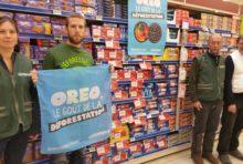 17 novembre – Greenpeace Chambéry dénonce la déforestation à Bassens.