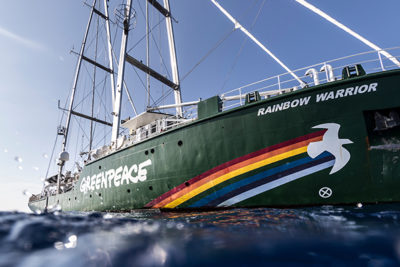 Que fait Greenpeace pour la planète ?