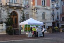 19 Janvier : stand Agriculture/ remise de voeux au Maire de Chambéry