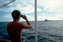 La France met un terme à ses essais nucléaires atmosphériques en Polynésie