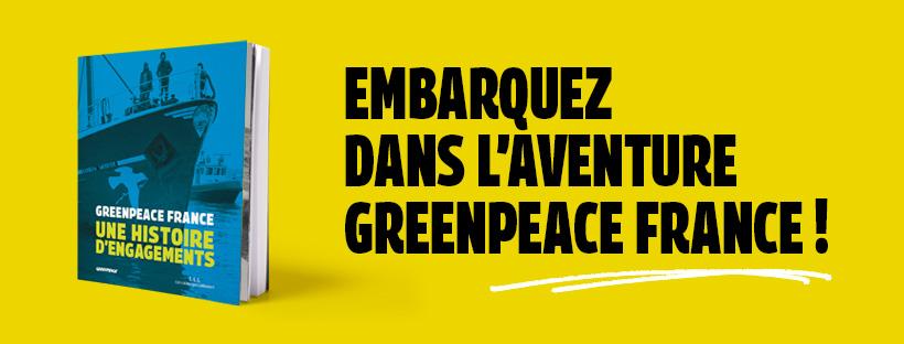 Sortie Du Livre Greenpeace France Une Histoire D