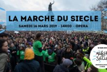 Marche du siècle : ce samedi 16 mars nous marchons pour le climat !