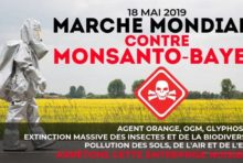Samedi 18 mai : Marche contre Monsanto & Bayer
