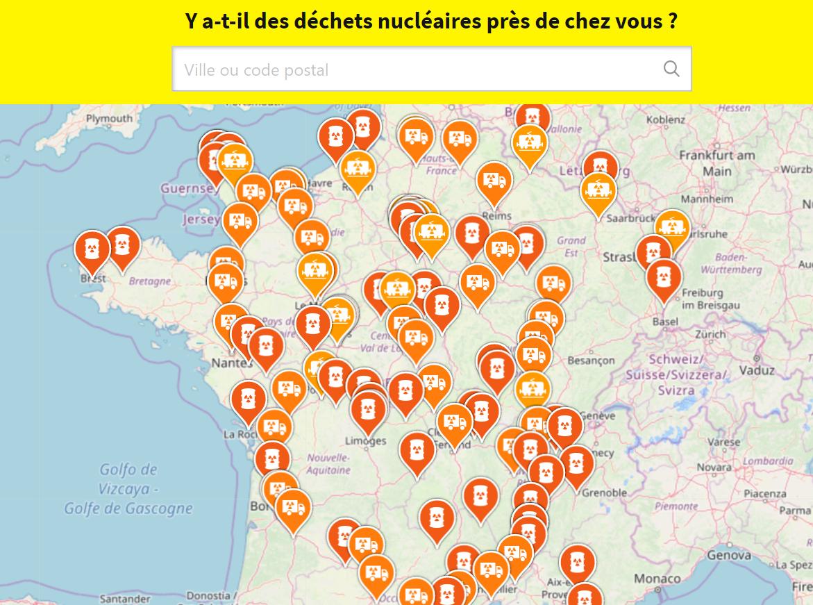 Dechets Nucleaires Le Territoire Francais Envahi De Poubelles Radioactives Greenpeace France
