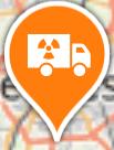 Point de passage de convois nucléaires par route